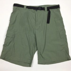 COLUMBIA Modern Classic Omni-Shade Belted Shorts